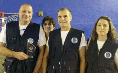Trophée d'honneur pour Pompiers Solidaires