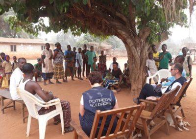 Programme Bénin - Pompiers solidaires 2